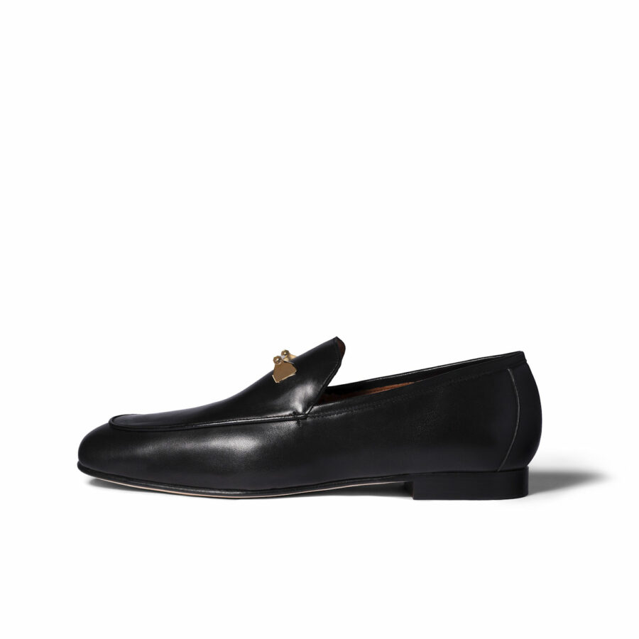 THE TADAO LOAFER IN BLACK