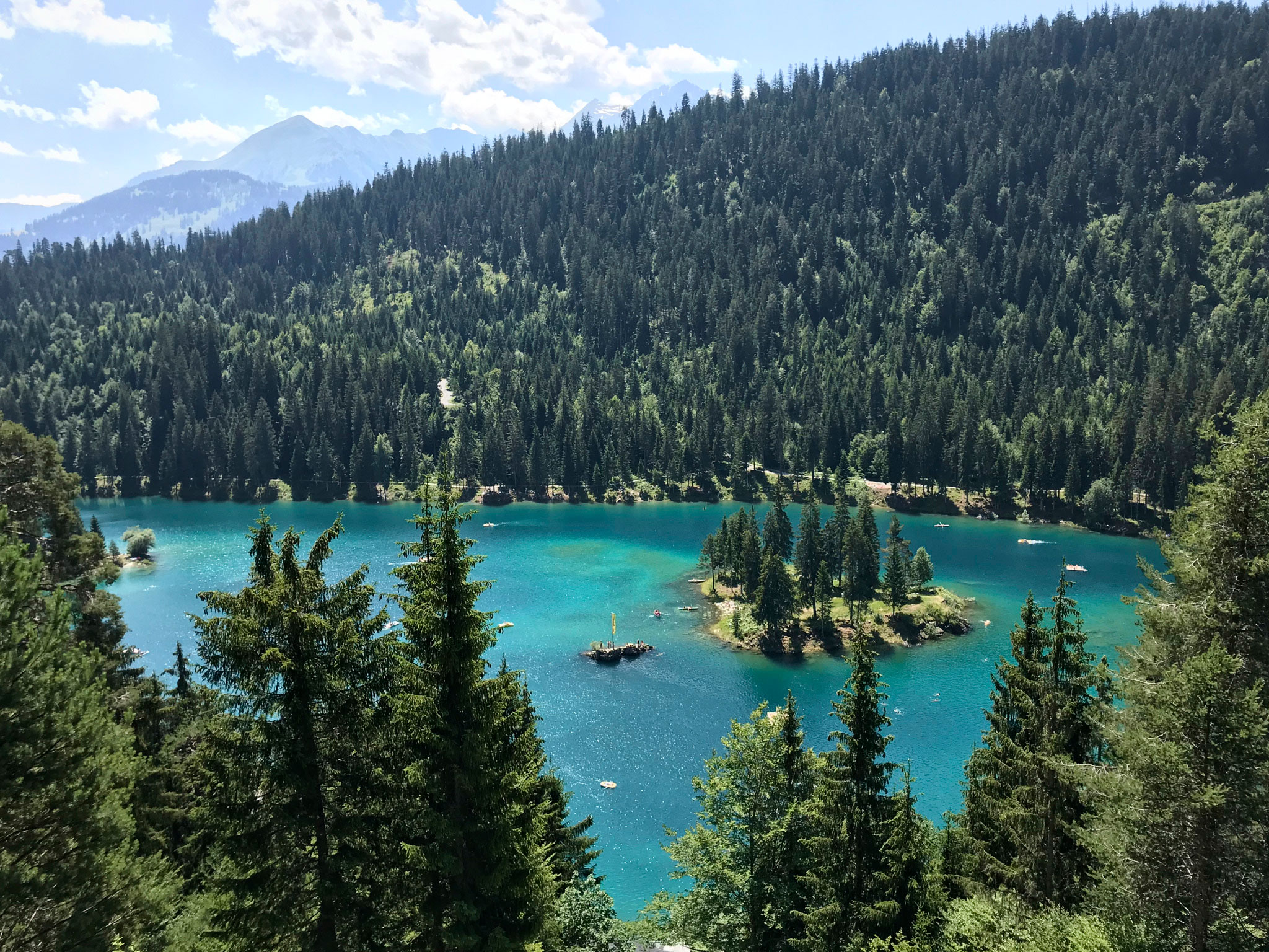Hiking the Swiss Alps