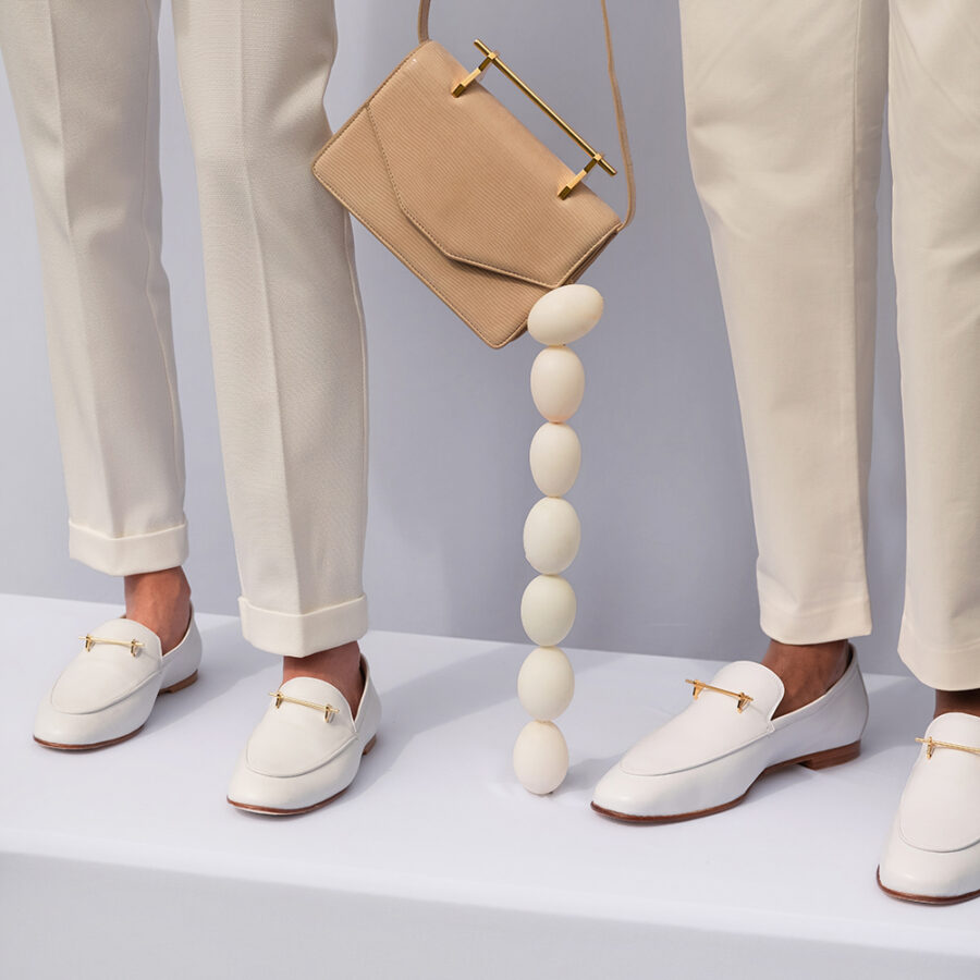 SANAA LOAFER IN WHITE