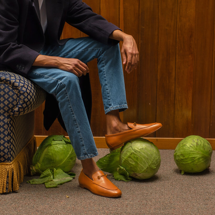 THE TADAO LOAFER IN CAMEL