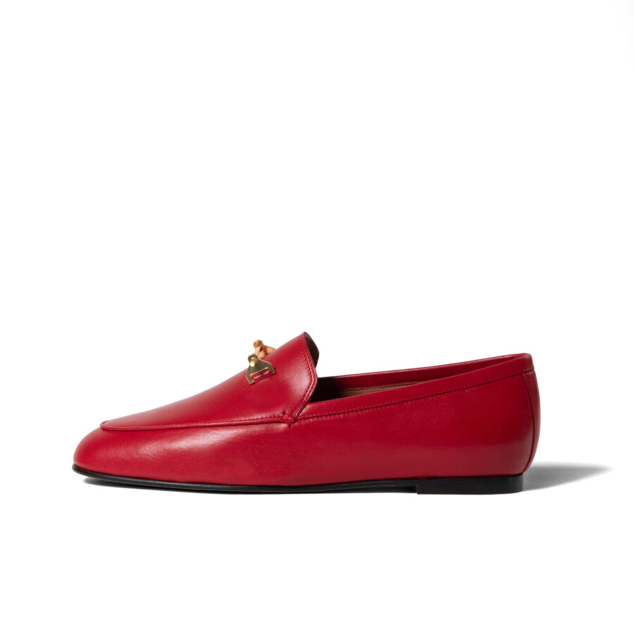 THE SANAA LOAFER IN RED